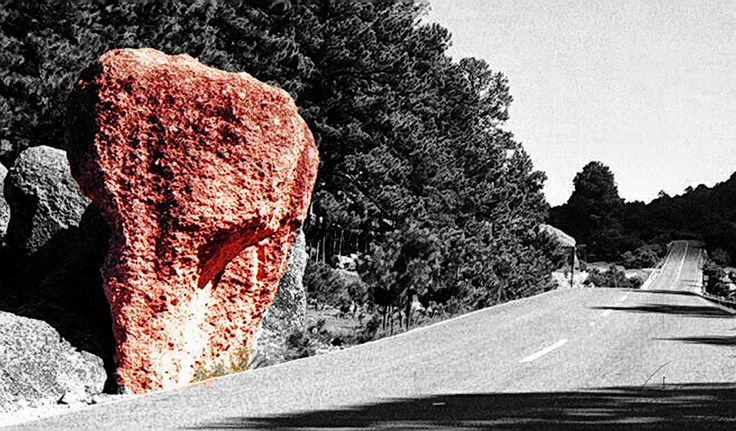 Sierra Tarahumara - Arareco - Piedra del elefante