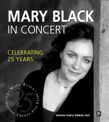 Mary Black, Irish Singer for many years. Still singing and on Tour 2017, visit her website www.mary-black.net