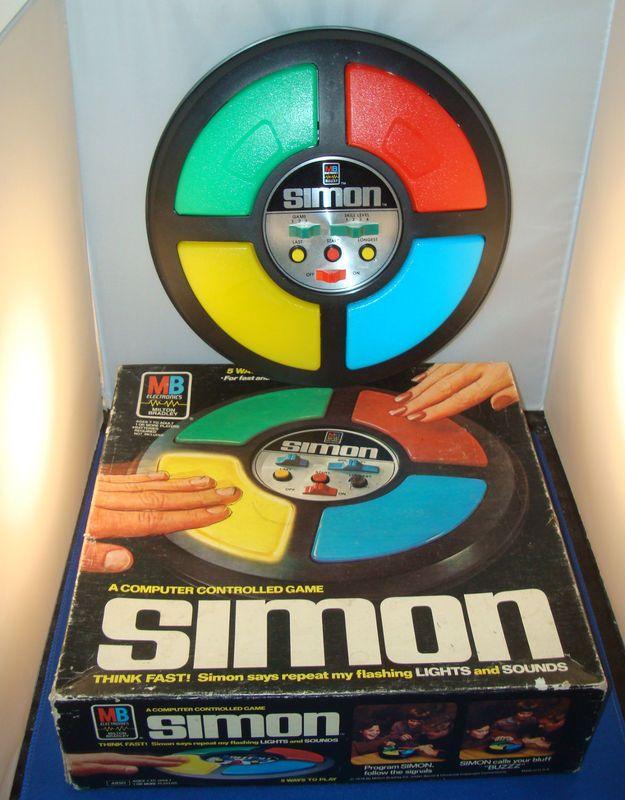 Electronic Toys For Big Boys : S vintage simon says electronic handheld original