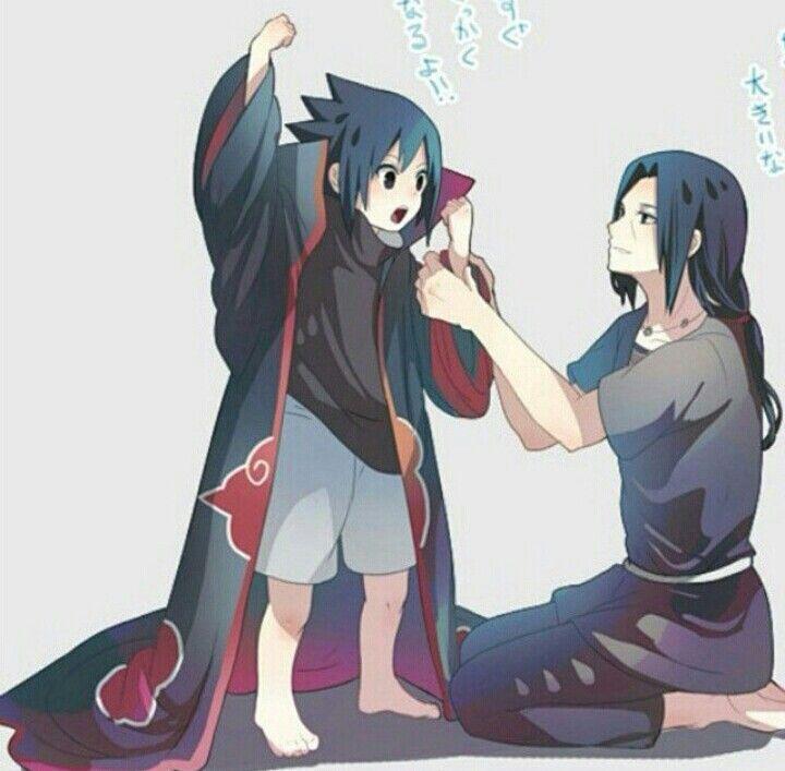 Aww little Sasuke ^~^