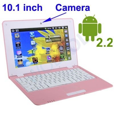 Android 4.0 - 1GB RAM) pink 10inch Laptop Notebook Netbook PC, WiFi and Camera with Google Play (Includes Mini PC Mouse)  Short Description: * Slim and light weight BLACK mini laptop Android 4.0, with build-in 1.3 MP CAMERA, 4GB storage, WiFi internet. ...  $179.94