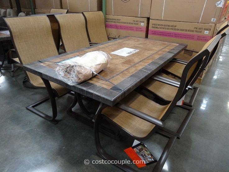 die besten 20+ costco patio furniture ideen auf pinterest | kleine, Esstisch ideennn