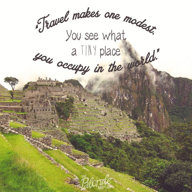 10 Inspirational Travel Quotes – The Blonde Abroad – bus travel