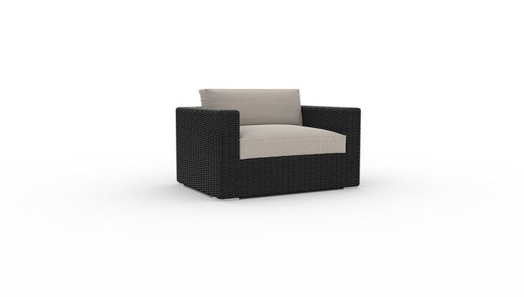 Yorkville Large Chair, 1pc, Sunbrella Fabric, Deep Seating, Garden Outdoor Patio All-weather Furniture (Cast Ash). Please check all of our collections: Bretton, Turo, Azores, Yorkville, Belstone, etc., to make sure you choosing the right one to fit your style and your space, happy shopping. Timeless design. Thick deep seating cushions made with Sunbrella fabric. Stain, fade and mildew resistant Sunbrella cushions. Powder coated, welded aluminum rust proof frame. UV protected PE rattan.
