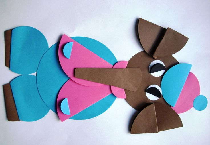 Bajkowe postacie origami - Słoń Trąbalski