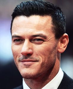 Luke Evans at the London Premier of Dracula Untold