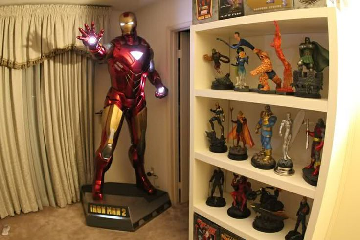 22 best iron man room decorations images on Pinterest Child room