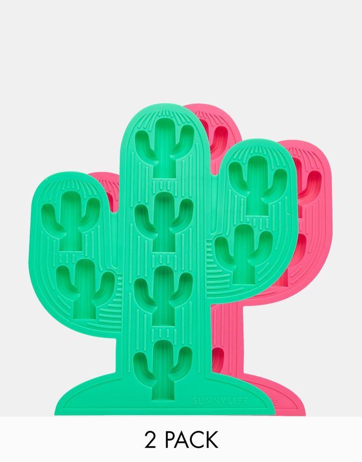 Image 1 ofSunnylife Cactus Ice Trays - Set of 2