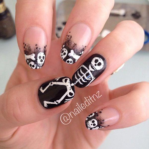 32 Halloween nail art