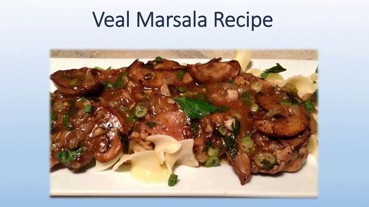 Nice Veal Marsala Recipe #cook #kitchen #health #wow Check more at https://epicchickenrecipes.com/chicken-marsala-recipe/veal-marsala-recipe-cook-kitchen-health-wow/
