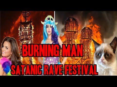 Burning Man Human Sacrifice Imitating New Age NWO SATANIC Festival EXPOSED