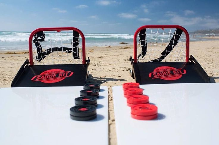 This is the Summer of SAUCE #HockeySauceKit USA  & Canadian  MADE & ASSEMBLED  #hockeysauce #sauceseason #summersauce #USAmade #CAmade #beachsauce #hockeygame #hockey #hockeypucks #hockeykit #saucekit