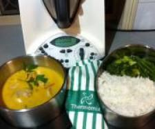 Mango Chicken with Rice and Vegetables | Official Thermomix Recipe Community