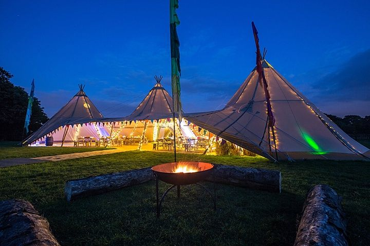 Boho Loves: Timber and Canvas – Show Stopping Wedding Tipis
