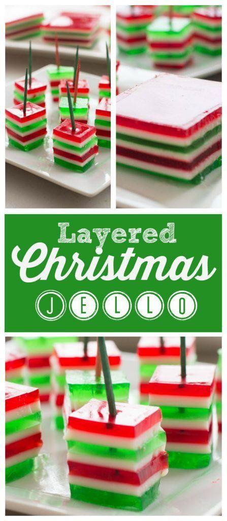 Layered Christmas Jello