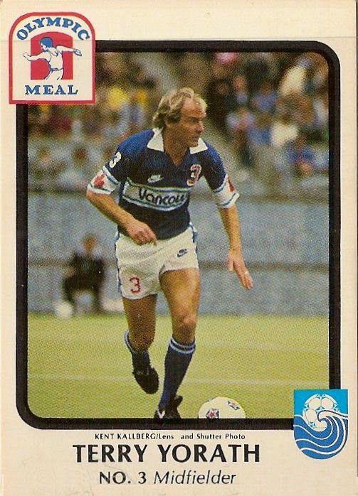 Terry Yorath of Vancouver Whitecaps in 1981.