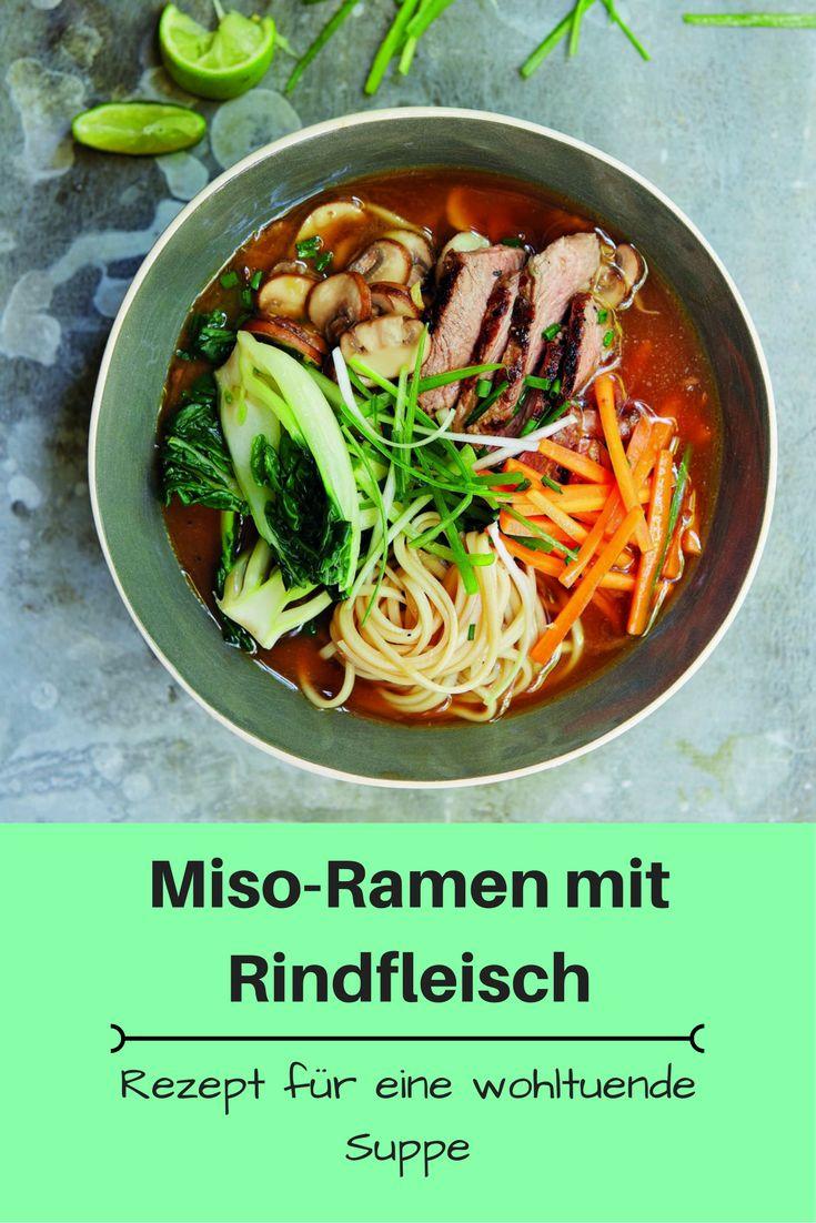 Miso-Ramen mit Rindfleisch (Foto: THORBECKE)