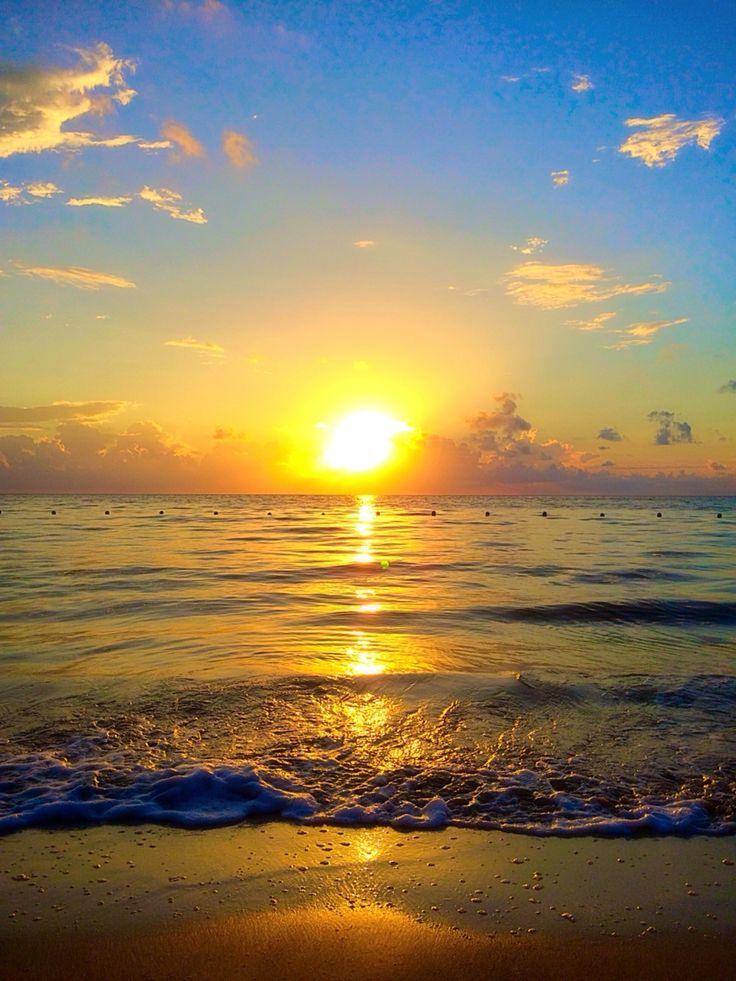 Beach therapy #sunrise #mexico 2015