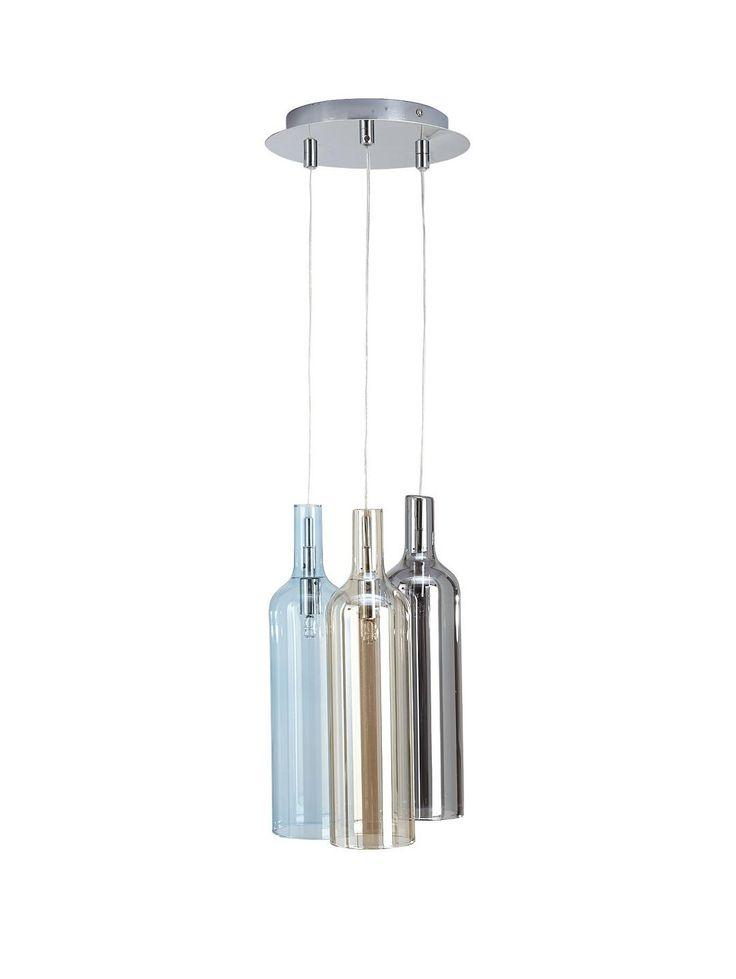 Wine bottle cluster ceiling light http www littlewoods com