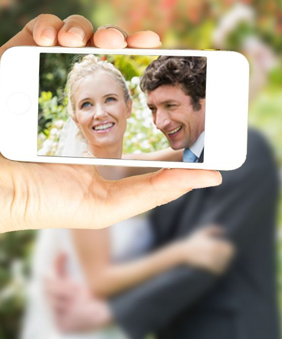 Let your guests capture and share the most romantic moments of your wedding!