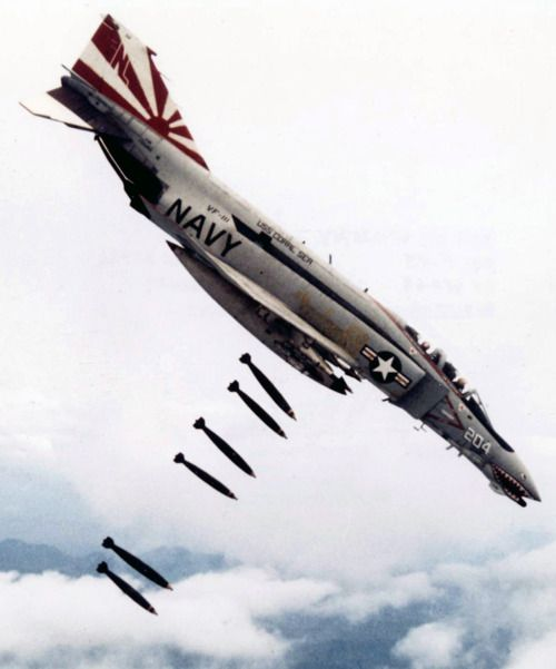 F-4 Phantom, literally faster tan greased sht, multi purpose fighter/bomber, freakin awesome