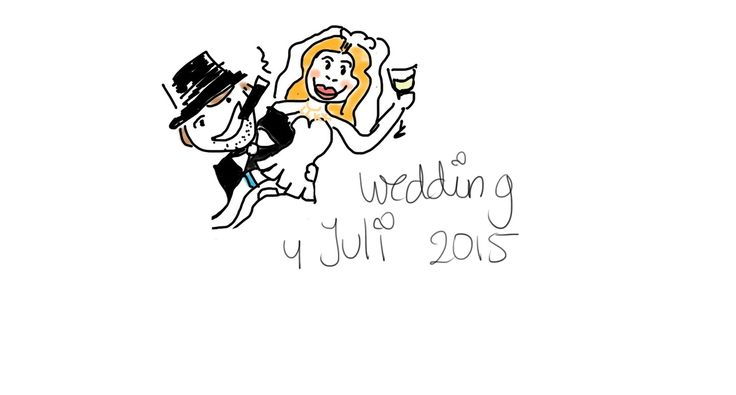 Let's get Married  4 Juli 2015!