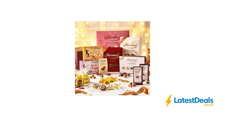 Family Sharing Chocolate Hamper Free Delivery, £40 at Thorntons