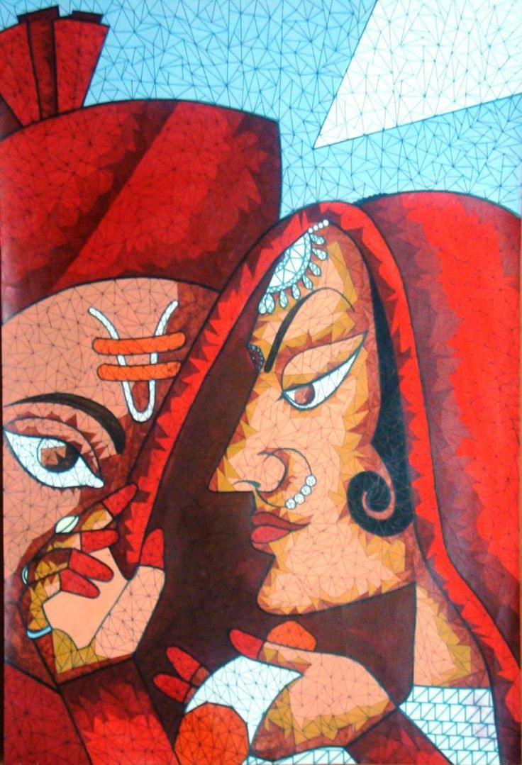 Marriage - Painting by Yoshita Bhatti in My Scrapbook at touchtalent 55689