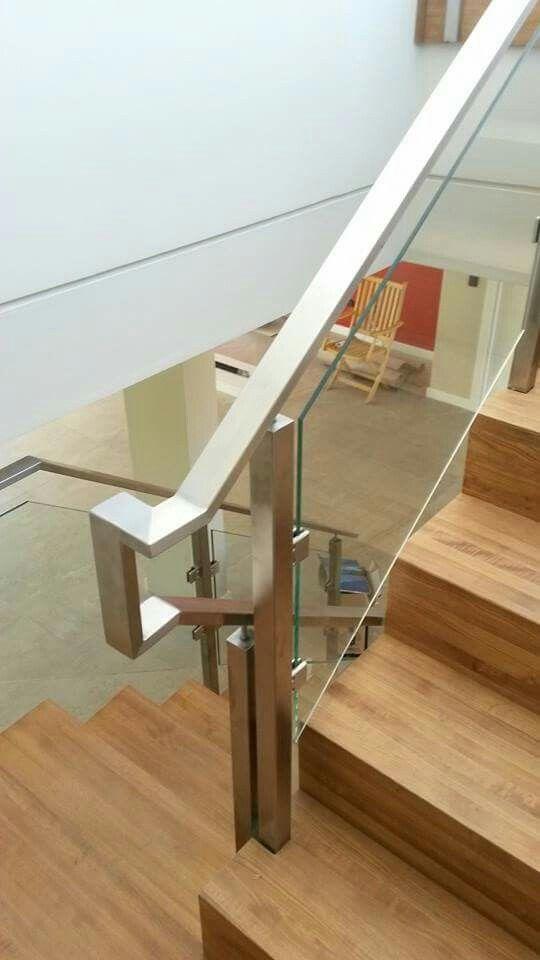 Las 25 mejores ideas sobre barandas acero inoxidable en - Pasamanos de acero inoxidable para escaleras ...
