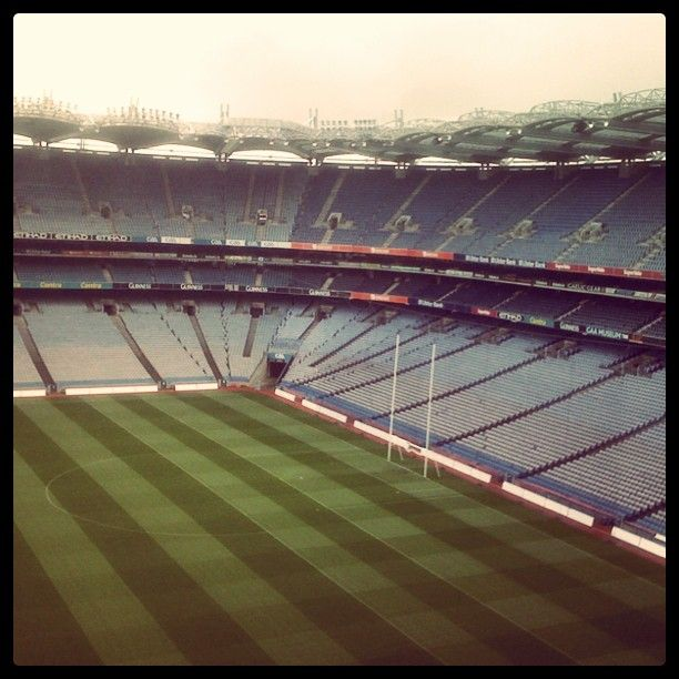 Croke Park - watching some hurling