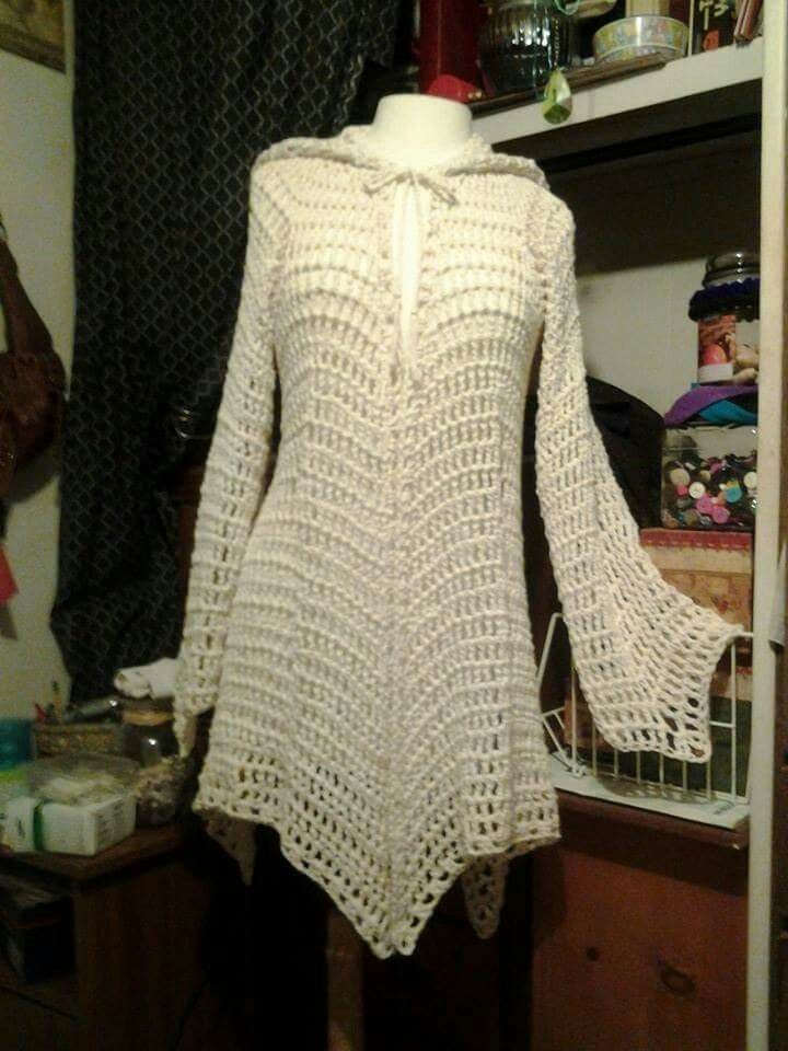 Free Gypsy Vest Crochet Pattern : 104 best images about SACOS TEJIDOS on Pinterest ...
