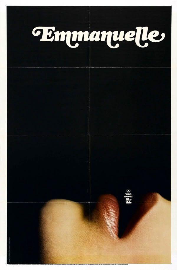 EMMANUELLE (1974): Movie Posters, Emmanuel Posters, Emmanuel 1974, Reginald Juice, Graphicdesign, Emmanuelle Posters, Graphics Design, Film Posters, 70S Posters