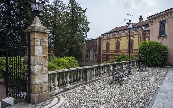 #Italy#Lake Orta#Ameno#Parco neogotico Palazzo Tornielli