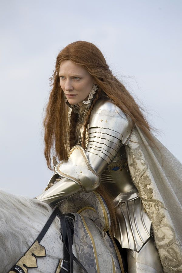 Elizabeth I of England - Cate Blanchett in Elizabeth: The Golden Age, set between 1585 and 1588 (2007).
