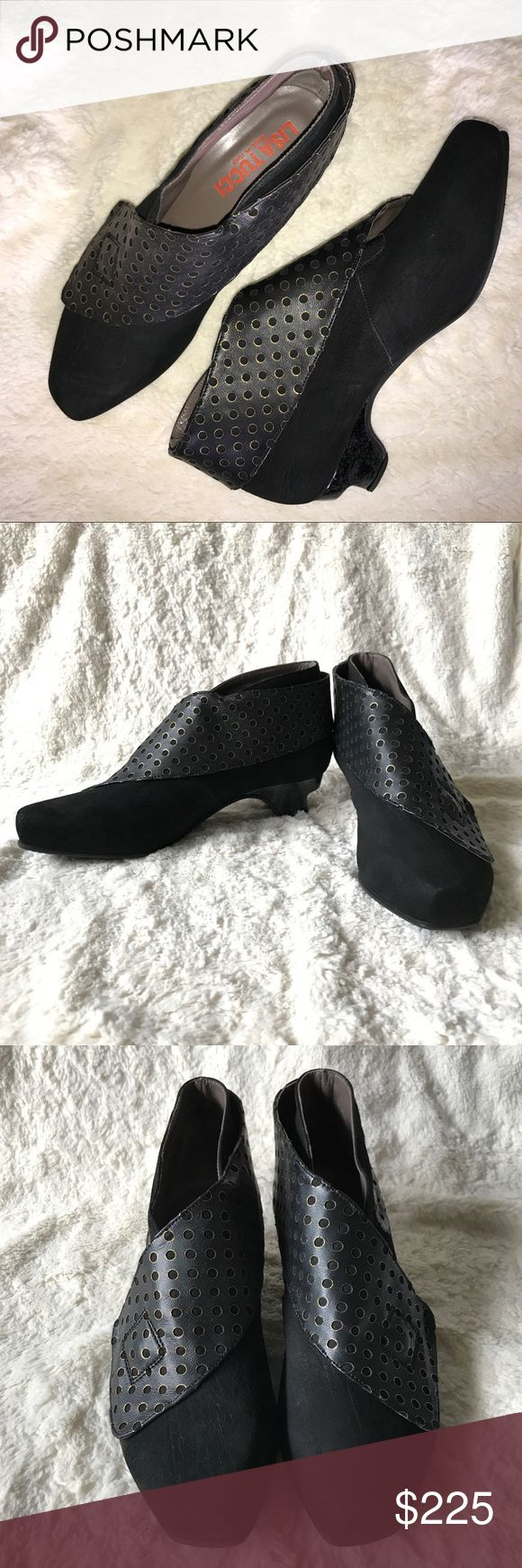 Lisa Tucci Ankle Boots 39 Italian Leather Designer New Without Box. Please feel free to ask questions. Lisa Tucci Shoes Ankle Boots & Booties