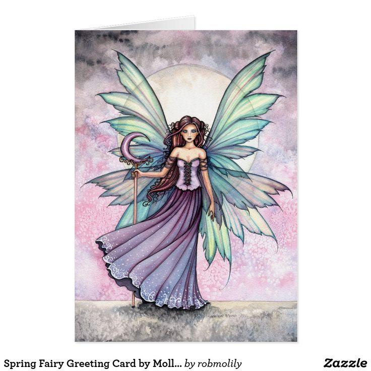 12 best goddess gttin images on pinterest goddesses fairies spring fairy greeting card by molly harrison fandeluxe Images