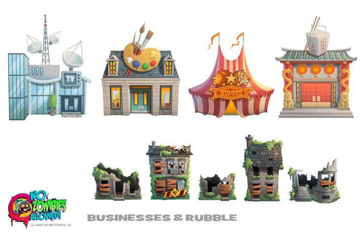 NZA! More buildings by petura on deviantART