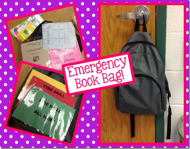 Emergency backpack to store all important information inside! Easy to grab and run out with. No clipboards with papers everywhere. It's all in one place. Breatheeee
