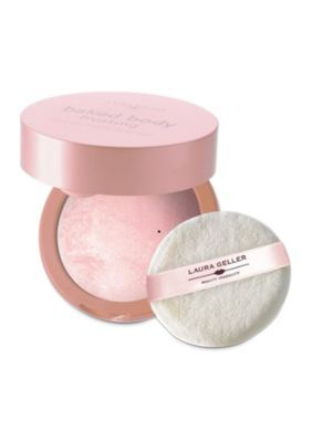 Laura Geller Angel Glow Baked Body Frosting with Puff