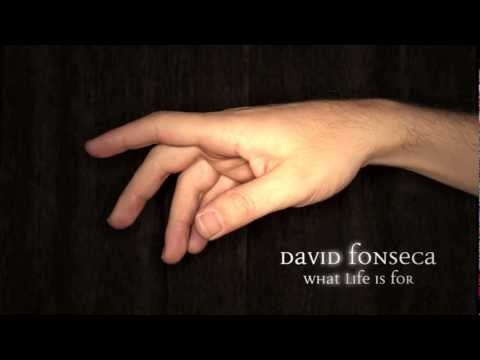 "David Fonseca - ""What Life Is For"""
