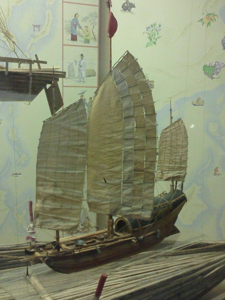 Chinese Junk | The American Museum of Natural History | Chinese boat, Junk ship, Model ships