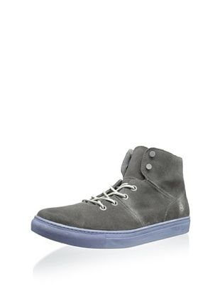 56% OFF Andrew Marc Men's Mullberry Mid Top Sneaker (Dark Lead/White)