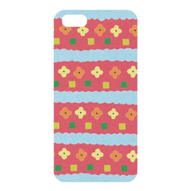 【【iPhone5s/5 ケース】AIUEO iPhone Case HANA RD】いろは出版