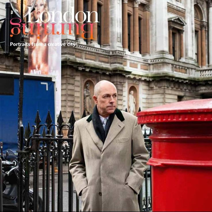 Gentleman about town , Dylan Jones, Editor of GQ magazine on the corner of Savile Row across from the Royal Academy on his way to a meeting at the Groucho.... Photo by Andrea Hamilton #londonburningbook