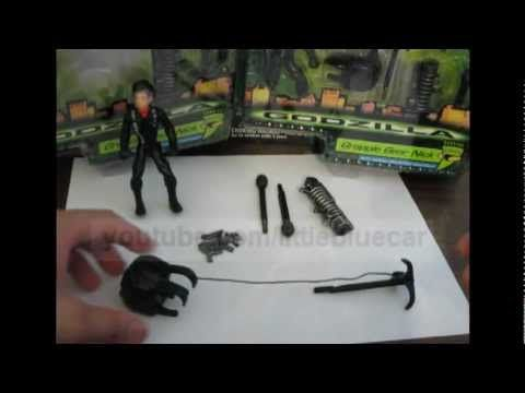 Godzilla 1998 Toy Figure Grapple Gear Nick Rappelling Action Backpack Review - http://mmaworkout.info/grappling-equipment/godzilla-1998-toy-figure-grapple-gear-nick-rappelling-action-backpack-review/ #Grappling