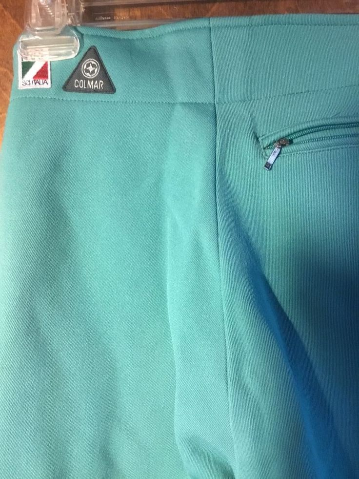 Italian Ski pants sportswear colmar skiitalia aqua pants women size 6 brand new #Colmar