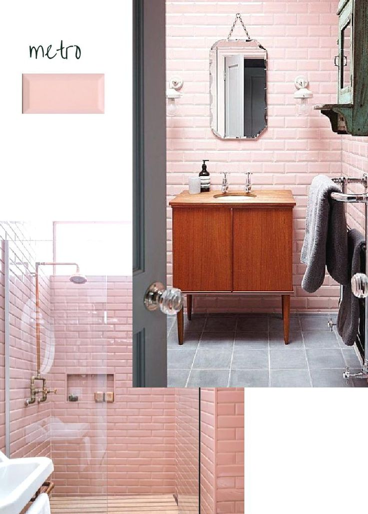 Passion Shake | 4 Ways To Get A Pink, Modern Bathroom Look | http://passionshake.com