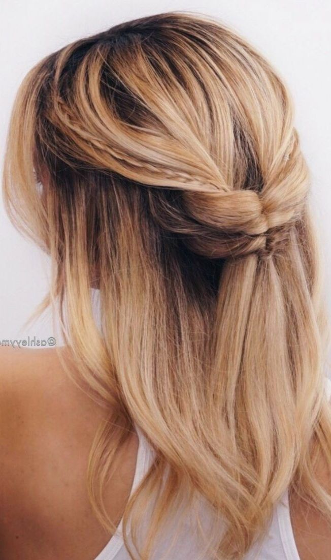 35 Easy Summer Hairstyles That You Simply Can T Miss For Summer 2019 Love Casual Style Easy Summer Hairstyles Summer Hairstyles Hair Styles