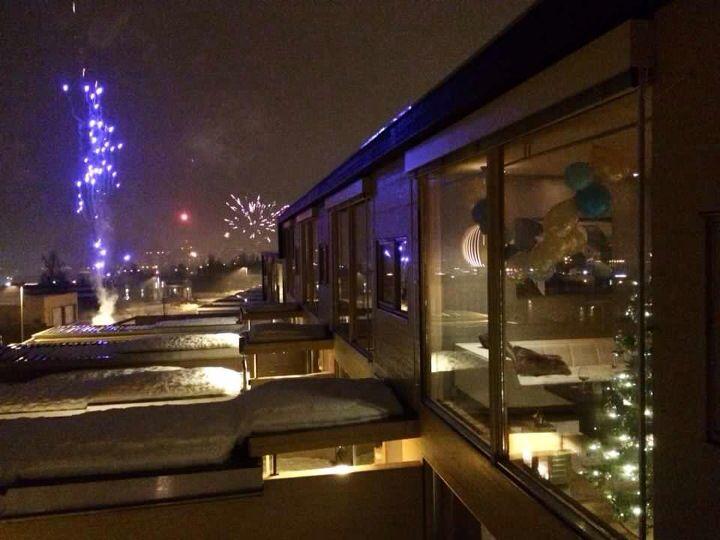 New Years Eve in Tromsø, Norway