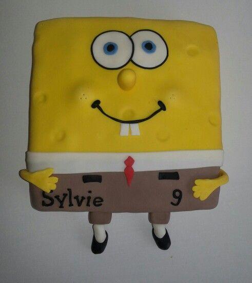 Spongebob taart! Www.facebook.com/taart1818